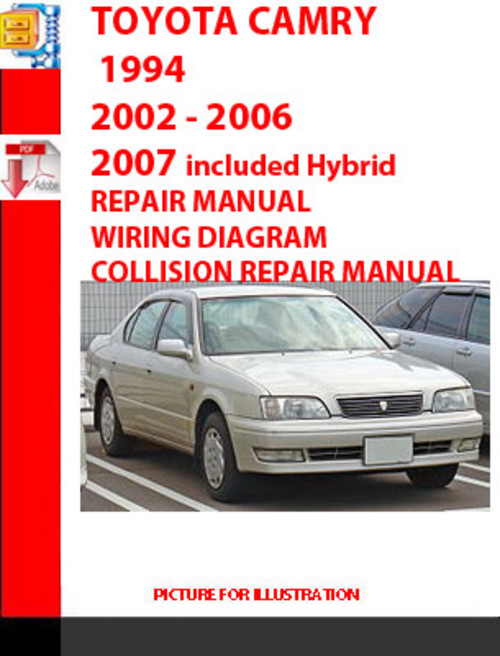 service manual pdf toyota camry 2002 2007 pdf 28 2004. Black Bedroom Furniture Sets. Home Design Ideas
