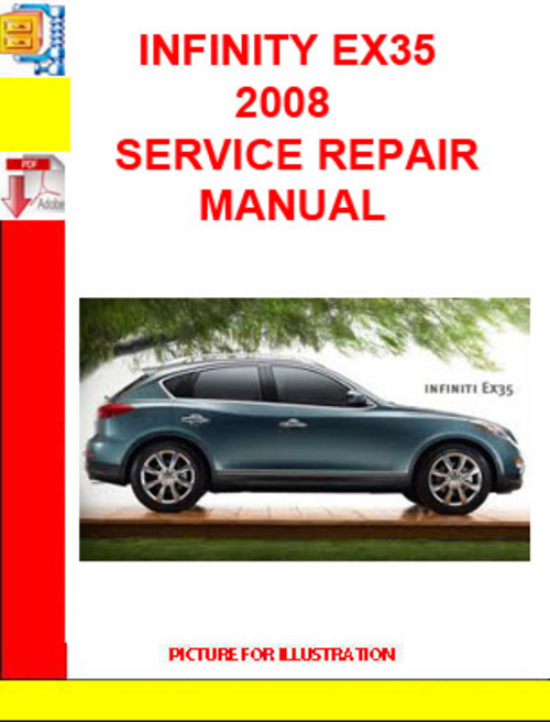 service manual 2008 infiniti ex and maintenance manual. Black Bedroom Furniture Sets. Home Design Ideas