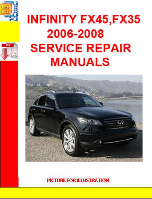Free INFINITY FX45,FX35  2006-2008 SERVICE REPAIR MANUALS Download thumbnail