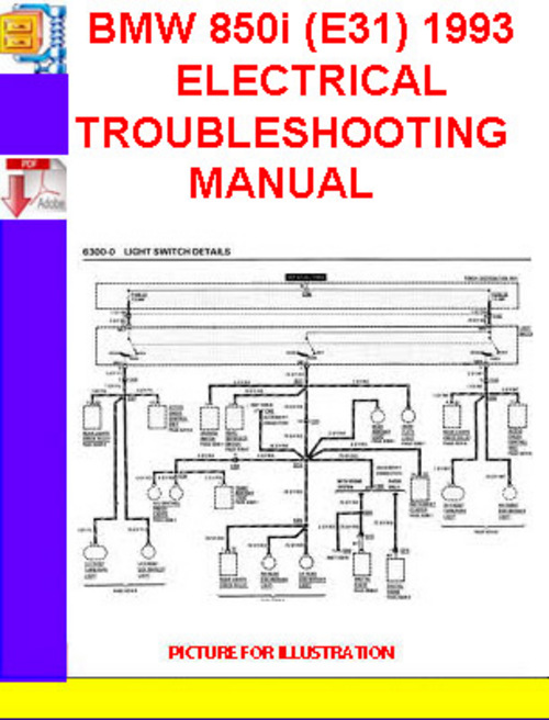 bmw 850i (e31) 1992 1993 electrical troubleshooting manual downlo bmw 525i wiring diagram pay for bmw 850i (e31) 1992 1993 electrical troubleshooting manual