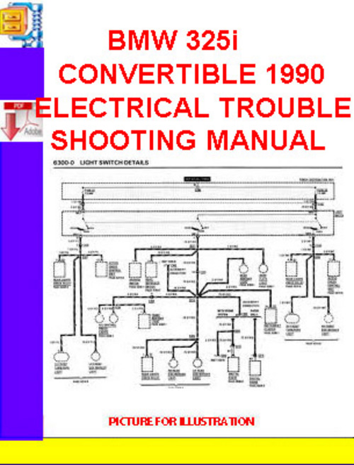 bmw 325i convertible 1990 electrical troubleshooting. Black Bedroom Furniture Sets. Home Design Ideas