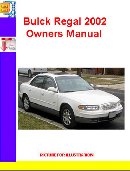 Pay for Buick Regal 2002 Owners Manual
