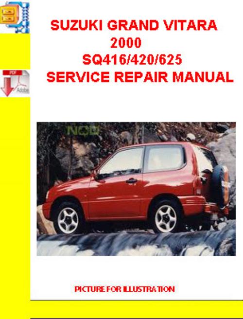 suzuki grand vitara 2000 sq416 420 625 service repair manual down rh tradebit com 2002 Suzuki Grand Vitara Repair Manual suzuki grand vitara 2000 service manual