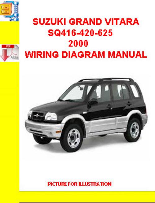 pay for suzuki grand vitara sq 416/420/625 1998-2005 electric wiring