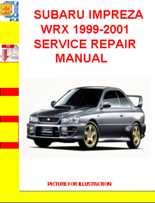 1999 subaru impreza vvti engines repair manual service. Black Bedroom Furniture Sets. Home Design Ideas