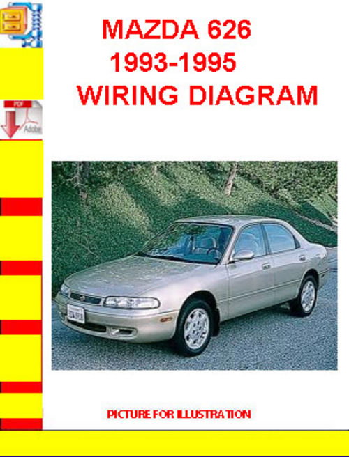 mazda 626 1993 1995 wiring diagram download manuals. Black Bedroom Furniture Sets. Home Design Ideas
