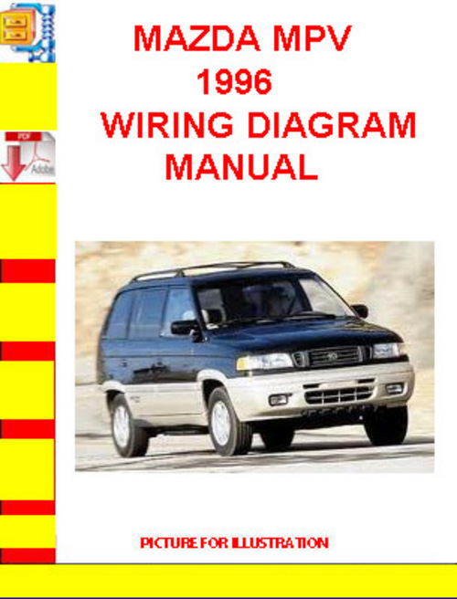 mazda mpv 1996 wiring diagram manual download manuals techn rh tradebit com