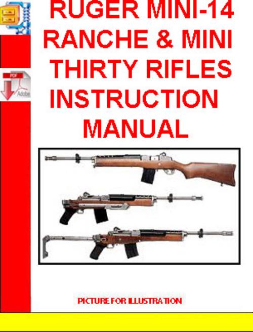 ruger mini 14 ranche mini thirty rifles instruction manual down rh tradebit com ruger mini 14 manual pdf mini 14 manual ruger