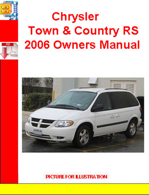 2006 chrysler town and country owners manual