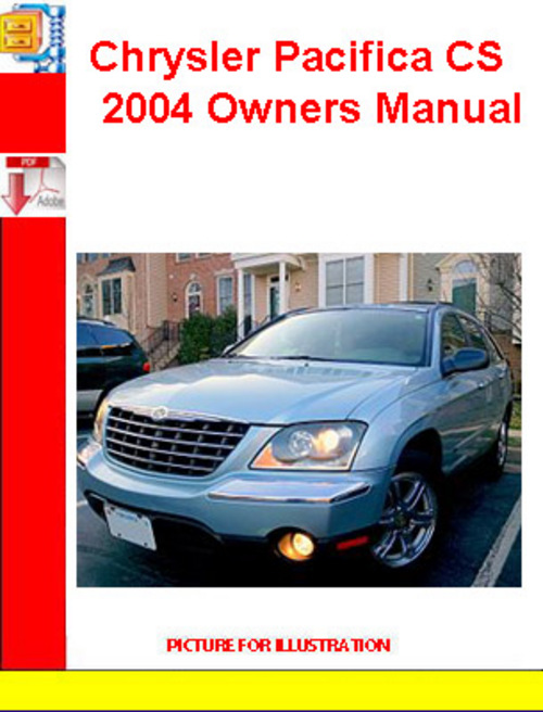 chrysler pacifica cs 2004 owners manual download manuals te rh tradebit com 2010 Chrysler Pacifica 2006 Chrysler Pacifica