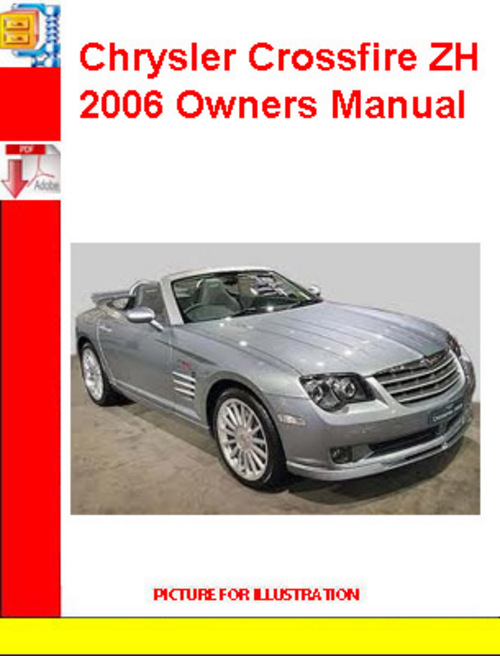 2006 chrysler crossfire service manual