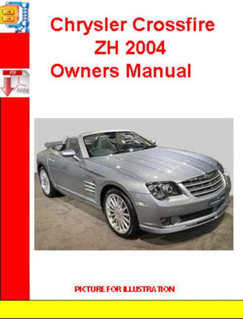 chrysler crossfire zh 2004 owners manual download manuals t rh tradebit com 2016 Chrysler Crossfire 2004 Chrysler Crossfire Interior