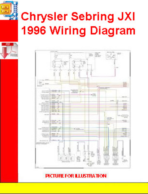 chrysler sebring jxi 1996 wiring diagram download manuals t rh tradebit com 1996 Chrysler Sebring Amplifier Schematics 1996 Chrysler Sebring Amplifier Schematics