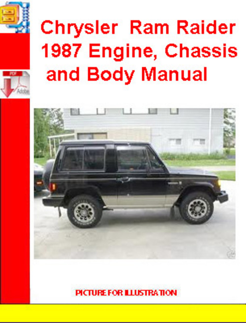 Pay for Chrysler Voyager 2001 RGEE Body System Failure Manual