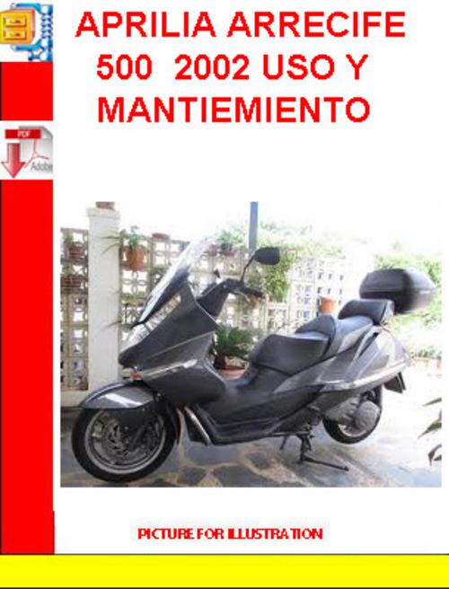 Pay for APRILIA ARRECIFE 500  2002 USO Y MANTIEMIENTO