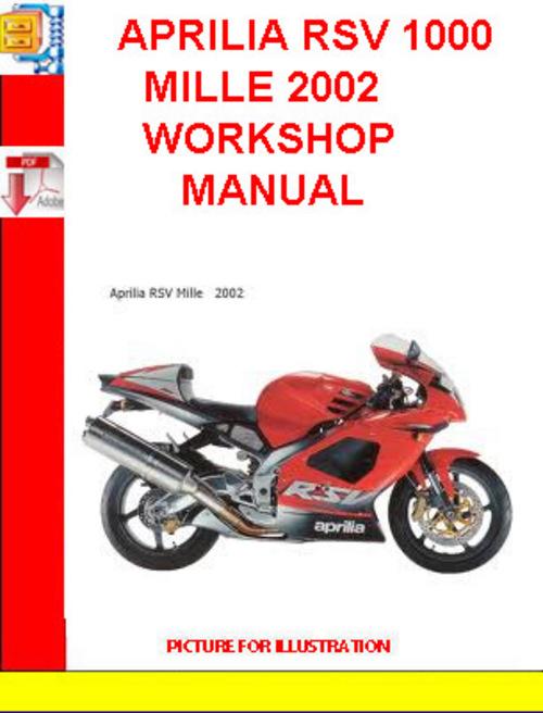Free Aprilia Sl1000 Falco Workshop Service Manual Download