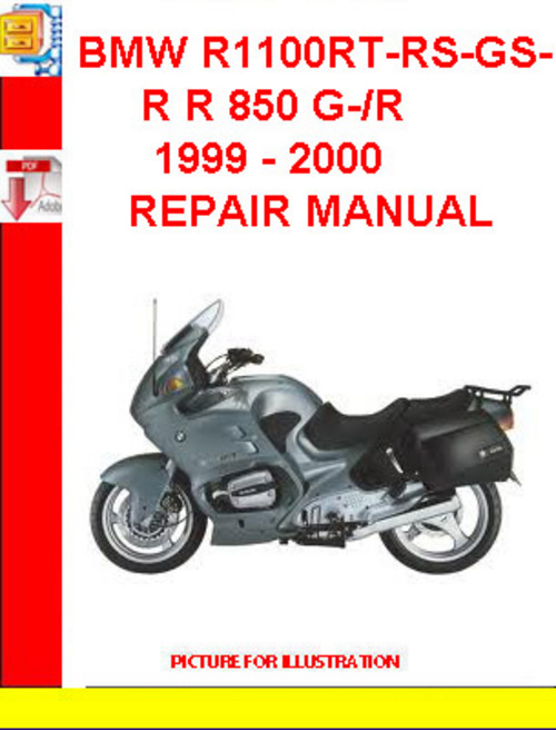 bmw r1100rt rs gs r r 850 g r 1999 2000 repair manual. Black Bedroom Furniture Sets. Home Design Ideas