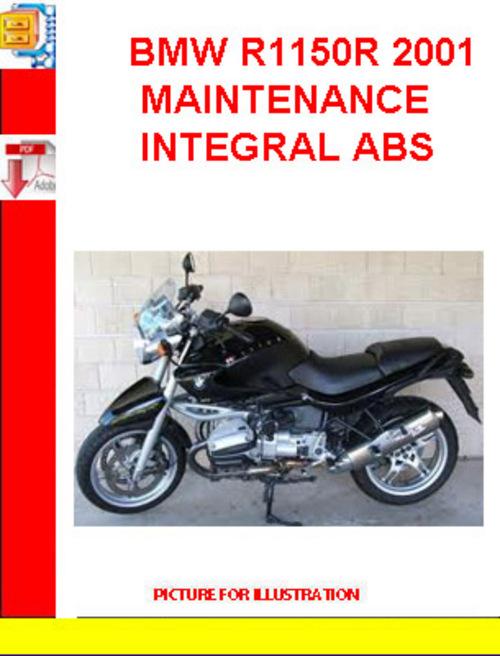 bmw r1150r 2001 maintenance integral abs download. Black Bedroom Furniture Sets. Home Design Ideas