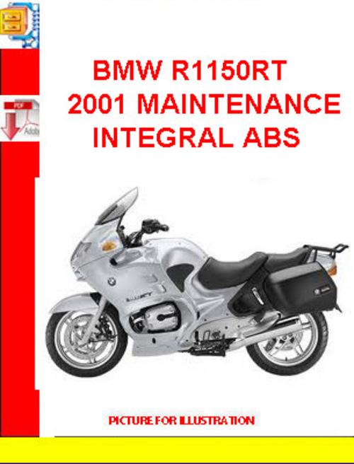 bmw r1150rt 2001 maintenance integral abs download. Black Bedroom Furniture Sets. Home Design Ideas