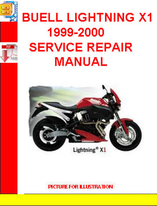 buell lightning x1 1999 2000 service repair manual. Black Bedroom Furniture Sets. Home Design Ideas