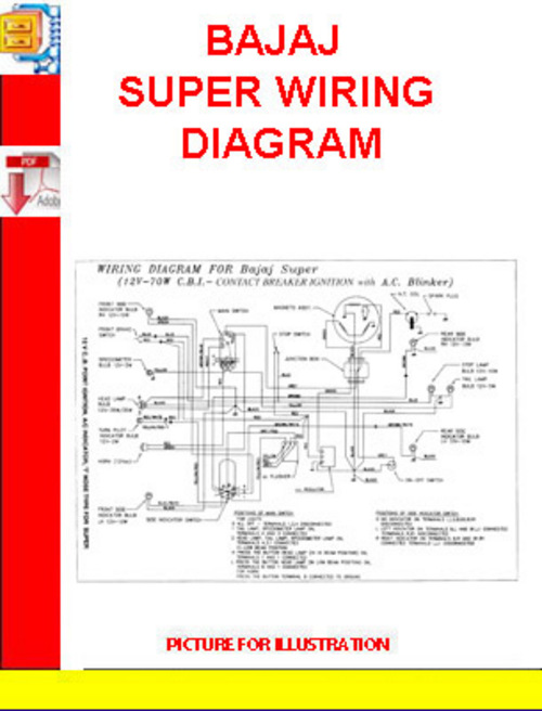 Bajaj Super Wiring Diagram