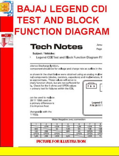 bajaj legend cdi test and block function diagram download manual rh tradebit com