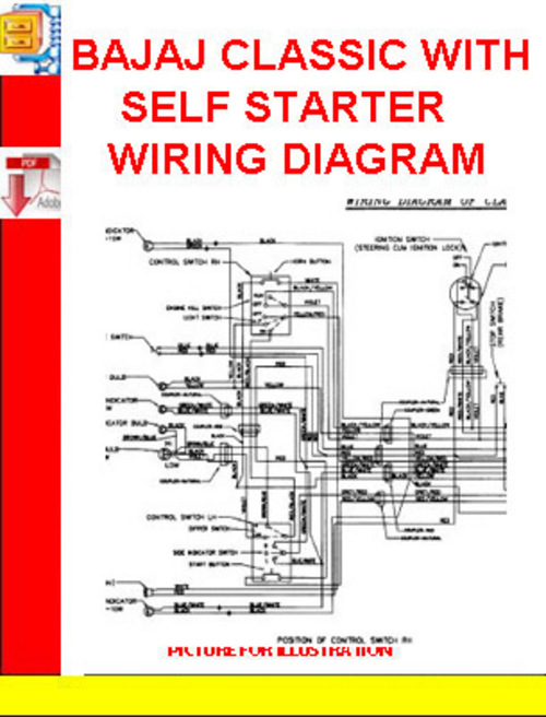 bajaj classic with self starter wiring diagram download manuals \u0026 Honda Motorcycle Repair Diagrams pay for bajaj classic with self starter wiring diagram