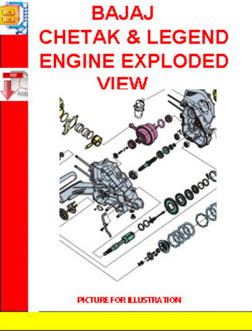 bajaj chetak legend engine exploded view download manuals rh tradebit com bajaj chetak user manual bajaj chetak manual gratis