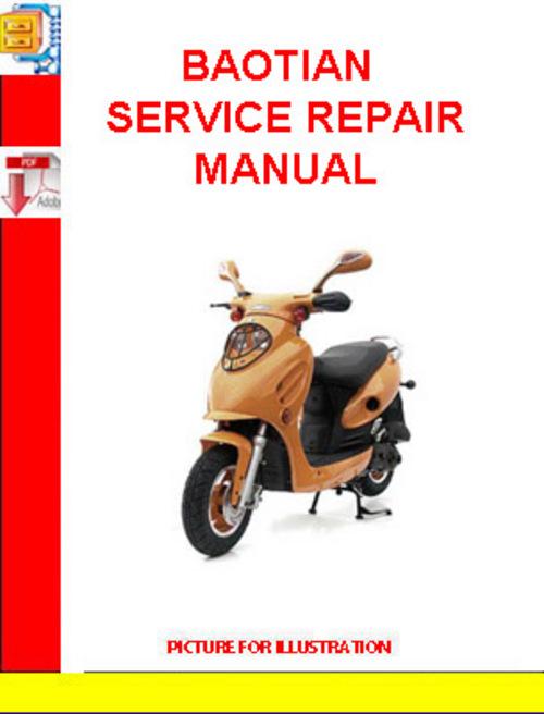 baotian service repair manual download manuals technical rh tradebit com Baotian Scooter Red Baotian Scooter SMX