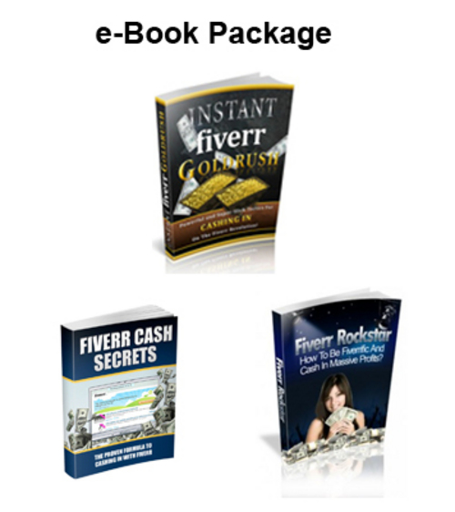 Pay for Make Money On Fiverr - 3 e-Book Package