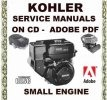 Thumbnail KOHLER SMALL ENGINE SERVICE REPAIR