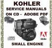 Thumbnail KOHLER SMALL ENGINE SERVICE REPAIR