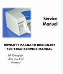 Thumbnail HP Service Manual DESIGNJET 10 thru 130nr