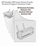 Thumbnail HP DESKJET 300 SERIES Service Manual