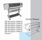 Thumbnail HP DesignJet 2000CP 2500CP 2800CP 3000CP 3500CP 3800CP Service Manual