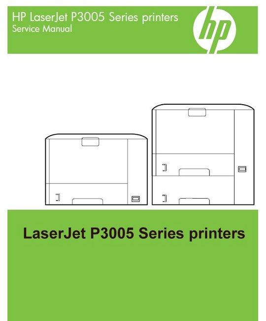 Hp Laserjet P3005 Series Service Manual