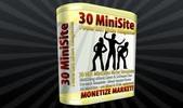 Thumbnail 30 MiniSite Templates PLR
