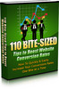 Thumbnail 110 Bite Sized Tips To Boost Website Conversion Rates MRR