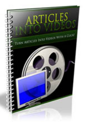 Pay for Turn Your Articles Into Videos With PLR