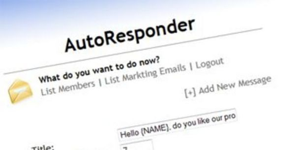 Pay for How To Setup An Auto Responder - Video Tutorial (PLR)