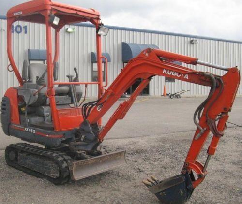 kubota kx41 2 excavator service manual repair download download m rh tradebit com Kubota KX 121 kubota kx41 2v manual