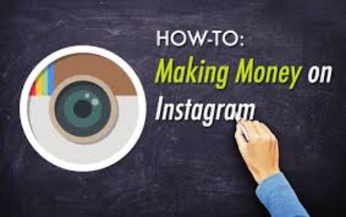 Pay for Make easy money with instagram