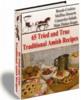 Thumbnail 65 Tried and true amish Recipes