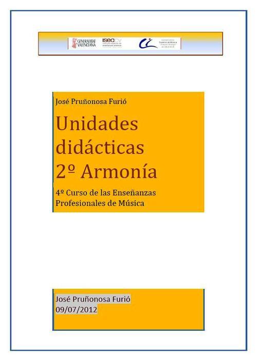 Pay for Unidades Didácticas 2º Armonía Enseñanzas profesionales.pdf