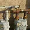 Thumbnail Industrial Pipes Against Wall Utilities Picture Image