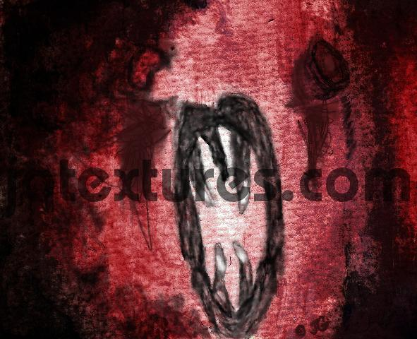Pay for Face of Horror Scary face red fright picture painting jotext
