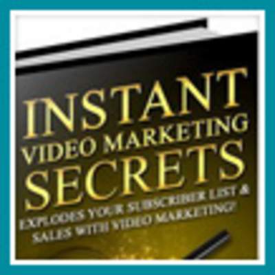 Pay for Instant Video Marketing Secrets - Make Money