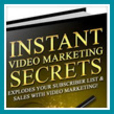 Pay for Instant Video Marketing Secrets - Make Money