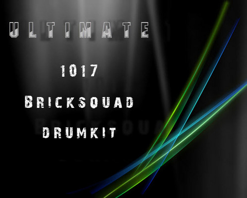 Pay for Ultimate 1017 BrickSquad Drum Kit
