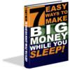 Thumbnail 7 Easy Ways To Make Money While You Sleep MRR